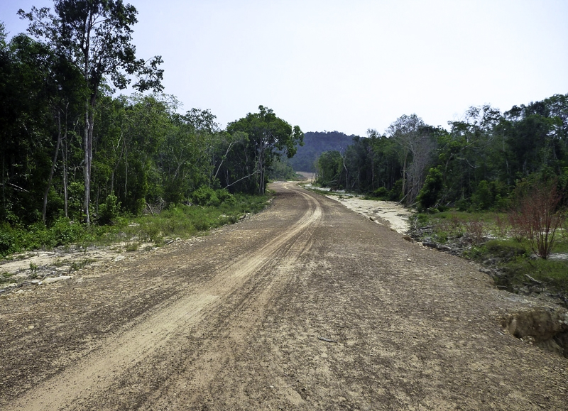 roads in koh rong